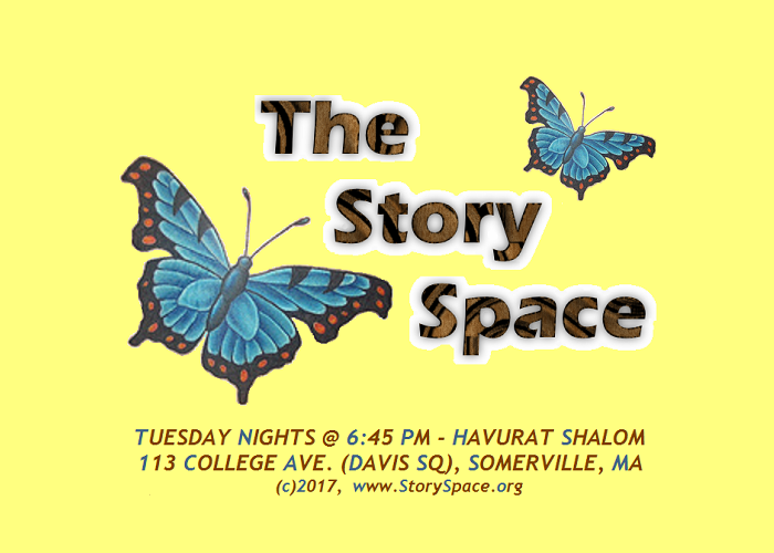 The Story Space Butterfly Logo